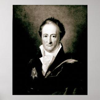 Johann Wolfgang Goethe Poster
