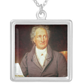 Johann Wolfgang von Goethe  1828 Silver Plated Necklace