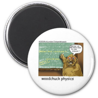 johann_woodchuck 6 cm round magnet