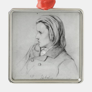 Johannes Brahms  aged twenty, 1853 Christmas Ornament