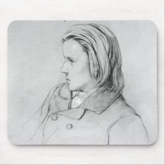 Johannes Brahms aged twenty 1853 Mousepad