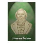 Johannes Brahms Greeting Card