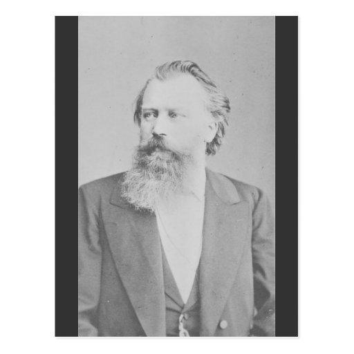 Johannes Brahms Post Cards