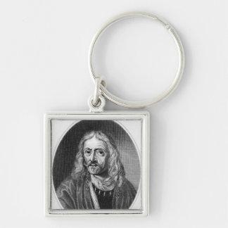 Johannes Hevelius, engraved by J. Baker Key Ring