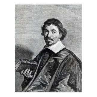 Johannes Hoornbeek, engraved by Jonas Postcard