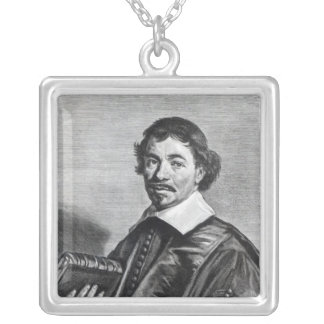 Johannes Hoornbeek, engraved by Jonas Silver Plated Necklace