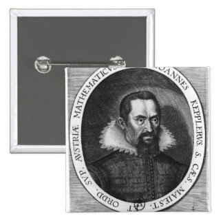 Johannes Kepler  1590 15 Cm Square Badge