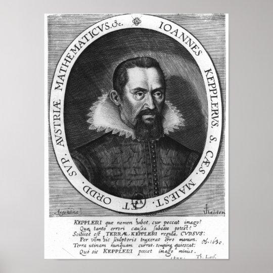 Johannes Kepler  1590 Poster