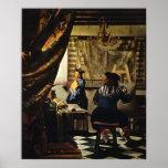 Johannes Vermeer's The Art of Painting circa 1668