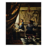 Johannes Vermeer's The Art of Painting circa 1668