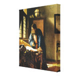 Johannes Vermeer's The Geographer (circa 1669) Gallery Wrapped Canvas
