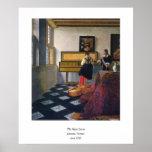 Johannes Vermeer's The Music Lesson (circa1663)