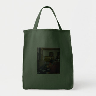 Johannes Vermeer's The Music Lesson (circa1663) Tote Bags