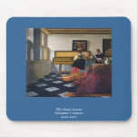 Johannes Vermeer's The Music Lesson (circa1663) Mousemat