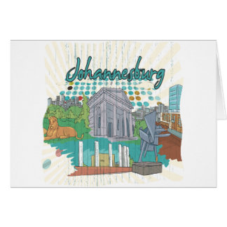 Johannesburg Greeting Card