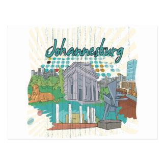 Johannesburg Postcard