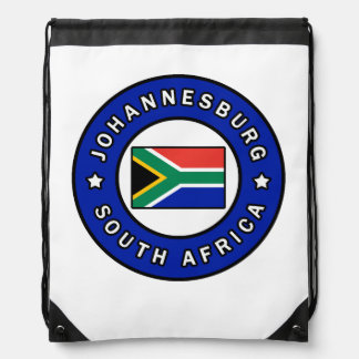 Johannesburg South Africa Drawstring Bag