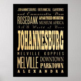 Johannesburg, South Africa Print