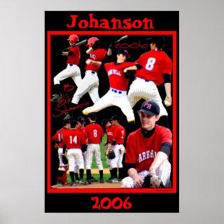 Johanson Freshman Baseball Poster