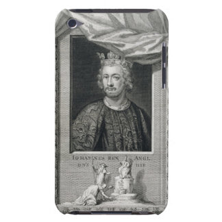 John (1167-1216) King of England from 1199, engrav iPod Case-Mate Case
