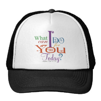 John 13:1-17 Wash Disciples Feet Scripture-Wear Hats