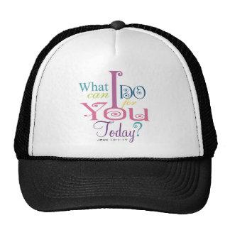 John 13:1-17 Wash Disciples Feet Scripture-Wear Mesh Hats