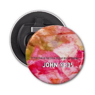 John 13:35 bottle opener