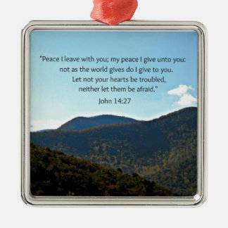John 14:27 christmas ornament