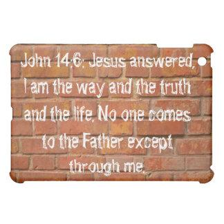 John 14:6 Brick Wall iPad Cover