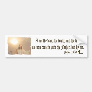 John 14:6 - Bumper Sticker