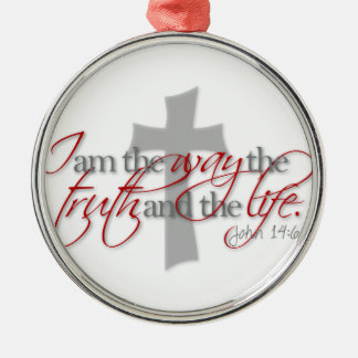 John 14:6 christmas ornament