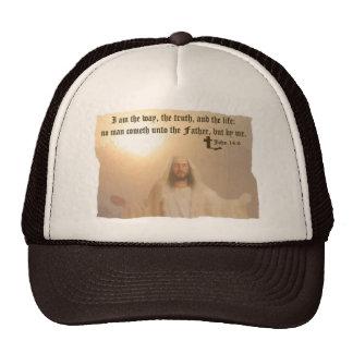 John 14:6 trucker hats