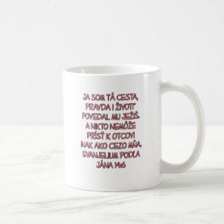 John 14:6 Slovak Coffee Mug