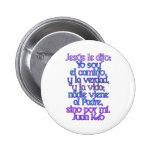 John 14:6 Spanish Badge