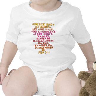John 14:6 Tagalog T-shirts