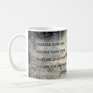 John 15:13 Scripture Mugs
