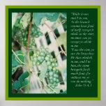 John 15: 4, 5  Scripture Posters