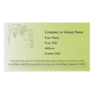 John 15 5 business card templates