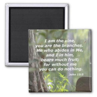 John 15:5 magnet