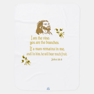 John 15:5 products receiving blankets