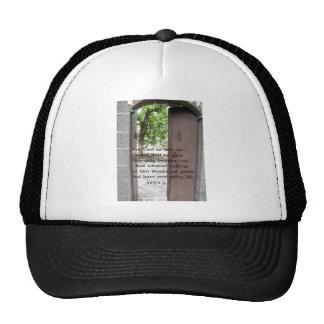 John 1:9 Inspirational and Uplifting Bible Verse Trucker Hat