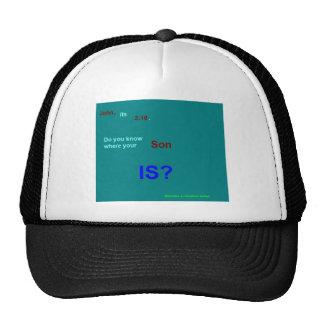 john 316 trucker hat