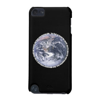 John 3:16 around Earth Christian iPod 5 Case