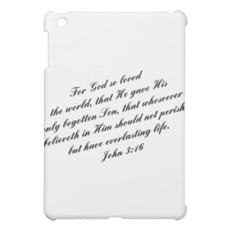 John 3:16 Bible Verse (KJV) iPad Mini Case
