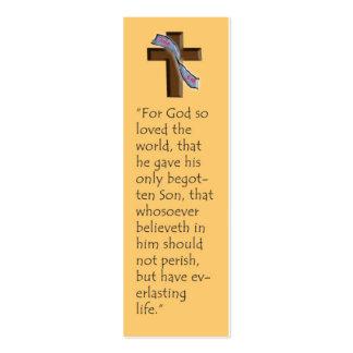 John 3:16 Bookmark Business Card