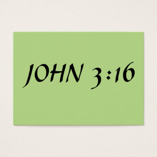 John 3:16 business card