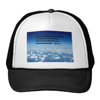 John 3:16 trucker hat