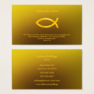 John 3:16 | Christian Business Card