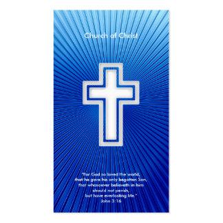 John 3 16 - Christian Business Card