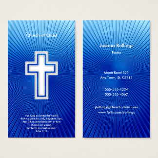 John 3:16 - Christian Business Card